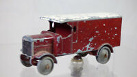 Vintage Lesney Models Of Yesteryear Rare Y7 4 Ton Leyland Red Diecast Toy Truck