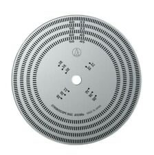 Universal Strobe Disc  Audio-Technica AT6180  33.33 & 45 RPM Turntable Speeds