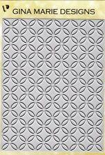 Gina Marie designs metal cutting dies - Circle flower cut Background plate