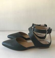 Country Road Buckle 100% Leather Sandals for Women