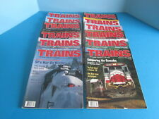 Vintage Trains The Magazine of Railroading 12 Issues from 1994