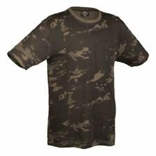 TEE SHIRT MANCHES COURTES CAMOUFLAGE MULTITARN BLACK TAILLE S