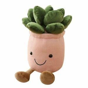 Succulent Plants Plush Stuffed Toys Lifelike Succulent Plant Plush Decoration #7