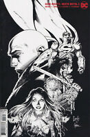 DARK NIGHTS: DEATH METAL #5 (1:100 B&W Greg Capullo Incentive Variant) Comic