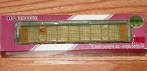 RED CABOOSE RM-19013-8 N BI-LEVEL AUTO RACK TFM TTGX 987875