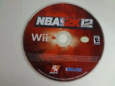NBA 2K12 Nintendo Wii **TESTED AND WORKING** LOOSE