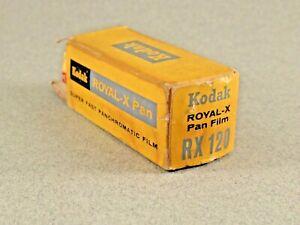 Vintage Kodak Royal-X Pan Film RX-120 EXP FEB 1970