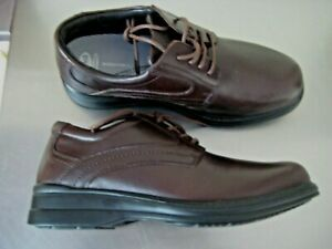 Scholl Benson Orthaheel Workforce Professional Leather Shoes. Size Eu 40 / M7