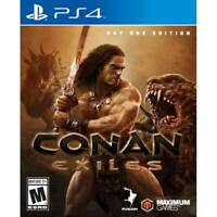 New sealed Conan Exiles day one PS4 playstation game WILL SHIP TOMORROW