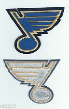 ST LOUIS BLUES Team Logo Licensed Sew On Jersey Patch NHL All Star Game