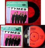Single Tymes: Wonderful Wonderful / Come with me (Cameo Parkway P 884) UK 1963