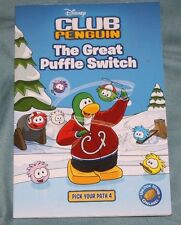 Disney Club Penguin: The Great Puffle Switch 4 by Tracey West (2010, Paperback)