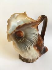 Small China Pottery Owl Creamer Jug