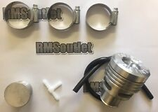 Collins Performance Silver dump valve and fitting kit for Ford Focus Mk2 ST225