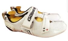 SIZE EUR 48 Gaerne cycling man shoes white with cleats EPS carbon fiber