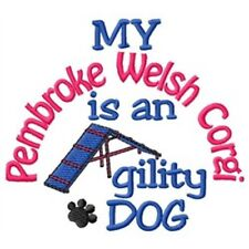 My Pembroke Welsh Corgi is An Agility Dog Long-Sleeved T-Shirt Dc1766L