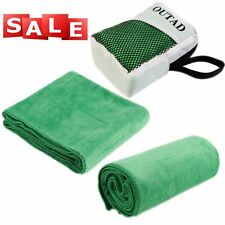 Microfiber Quick-drying Sport Towel Shower Beach Hiking Outdoor Travel Camping L