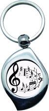 Porte clés - Musique - Notes 1