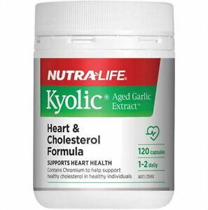 Nutra-Life Kyolic Aged Garlic Extract Cardiovascular 120-Capsules