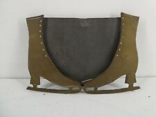 More details for world war brass trench art photograph photo frame (ice skates)    (c19)