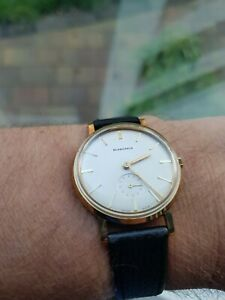 1961 Blancpain Gents Watch, Solid Gold, Stunning Condition Truly Magnificent!