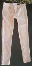 Adriano Goldshmied peach Zip up Skinny ankle zip denim Sz 27R Ret $150