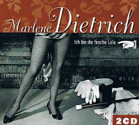 """MARLENE DIETRICH """"Ich bin die fesche Lola"""" 2CD-Set 78rpm time NEU & OVP"""