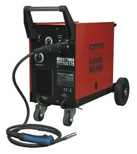 Sealey Professional Gas/No-Gas MIG Welder 170Amp with Euro Torch MIGHTYMIG170