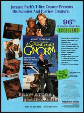 A GNOME NAMED GNORM__Original 1994 Trade print AD promo__ANTHONY MICHAEL HALL