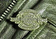 Harley-Davidson Motorcycle 80th Anniversary Harley Pewter Biker Jacket pin 1005a