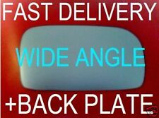 HONDA CIVIC 2000+ DOOR WING MIRROR GLASS CONVEX WIDE ANGLE+PLATE RIGHT OR LEFT