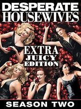 DESPERATE HOUSEWIVES - Season 2 .. The Extra Juicy Edition 6-DVD box set