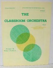 FOLK SONGS BRITISH ISLE- Classroom Orchestra RECORDER UKULELE GUITAR Sheet Music