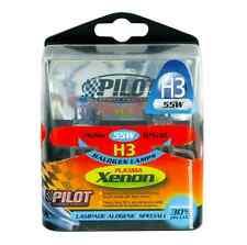 LAMPADA ALOGENA PLASMA XENON PILOT 2PZ H3 55W 12V PK22S COD.58168