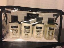 Victoria's Secret Shea BODY LOTION CREAM WASH SCRUB Weightless OIL Travel Set