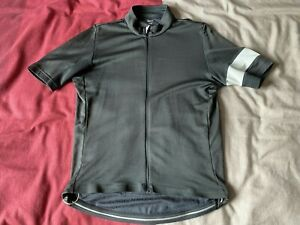 Rapha Classic Road Race Gravel Short Sleeve Jersey Large. Grey.