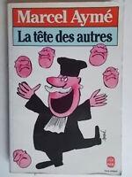 La Tete Des Autres piece in 4 actesaymé marcellivre poche 1983teatro francia