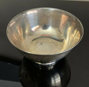 """4"""" Silver-plated Bowl Paul Revere Reproduction By Oneida"""