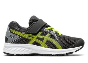 ASICS 1014A034.024 JOLT 2 PS Yth`s (M) Graphite Grey/Lime Mesh Athetic Shoes
