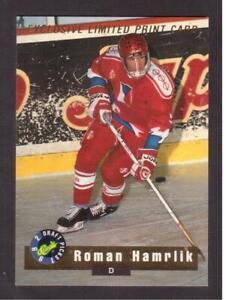 1992-93 CLASSIC DRAFT PICKS LIMITED PRINT CARD # LP1 ROMAN HARMLIK !!