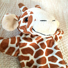 The Puppet Company Giraffe Simple Hand Glove Puppet Plush Safe Embroidered Eyes
