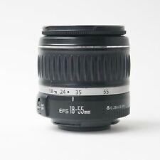 Canon SLR zoom lens EF-S 18-55mm f/3.5-5.6 II