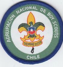 Boy Scout Membership badge AGRUPACION NACIONAL de CHILE