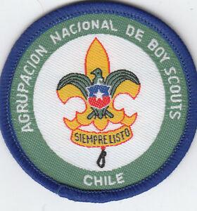 Boy Scout Membership badge AGRUPACION NACIONAL de CHILE