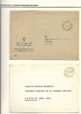 Switzerland: 1943; 2 good military covers, II war world, EBFM22