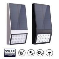 15 LED ad Energia Solare Sensore di Movimento Luce Sicurezza Lampada da Esterno