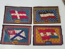 Denmark Austro-Hungary Germany Poland - 1900s Flag Tobacco Felts (4)