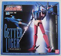 BANDAI Soul of Chogoki GX-19 Getter Liger Action Figure Japan Used