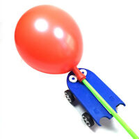 Creative Children DIY Balloon Power Car Kit Science Learning Educational Toys