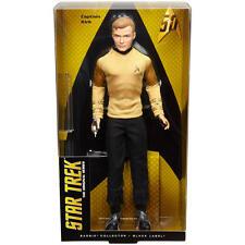 Barbie Star Trek 50th Anniversary Captain Kirk Doll New